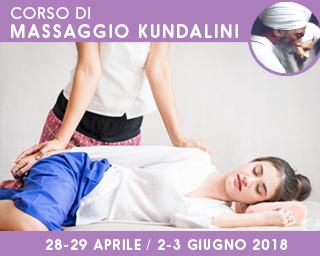 Corso di Massaggio Kundalini secondo la tradizione di Yogi Bhajan