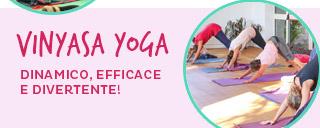 Corso di Vinyasa Yoga a Cesena