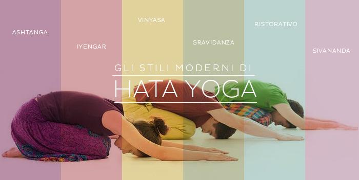 Gli stili moderni di Hatha Yoga