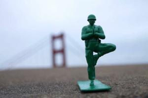 Yoga Joes: i soldatini fanno yoga