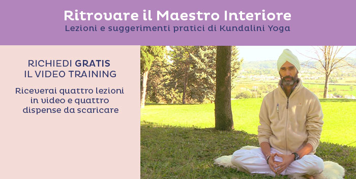 Iscriviti al video training gratuito di Kundalini Yoga