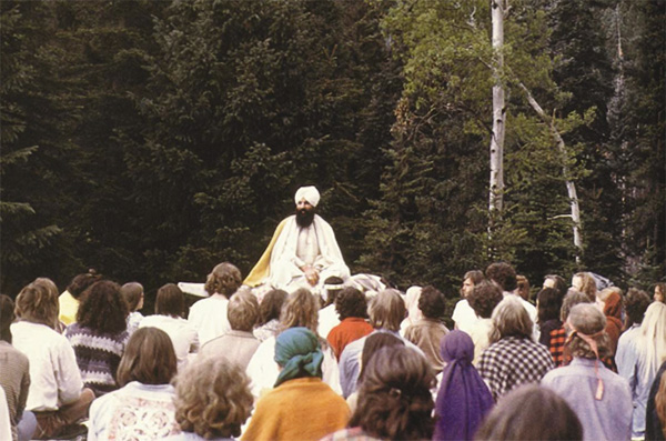 Yogi Bhajan in Occidente