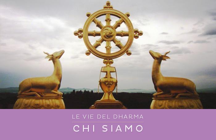 Le Vie del Dharma - Chi Siamo - La Ruota del Dharma