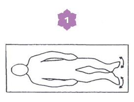 Sequenza disintossicante - prima posizione