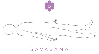 Sequenza invernale - 5 Savasana