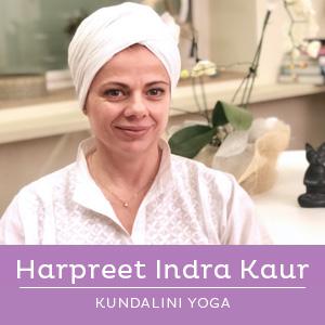 Harpreet Indra Kaur - insegnante di Kundalini Yoga