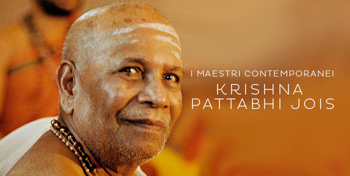 Pattabhi Jois - I Maestri Contemporanei