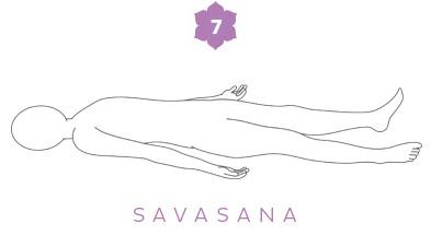 Savasana - Sequenza yoga per il mal di schiena