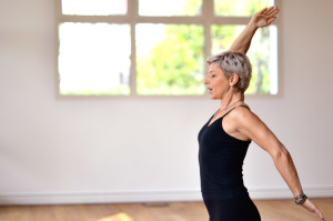 A lezione di Yoga Integrale con Anna Falcinelli al Centro Le Vie del Dharma
