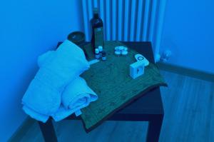 La Cabina Blu per trattamenti, riequilibri energetici, massaggi....