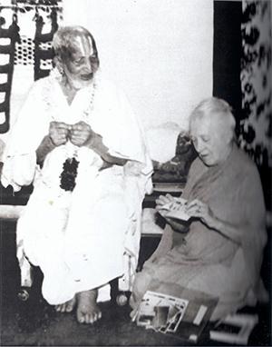 Indra Devi e Krishnamacharya