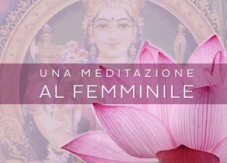 Meditazione per la donna