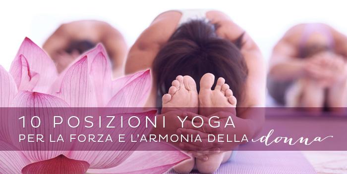 posizioni yoga per la donna
