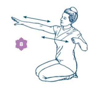 Sequenza yoga per la donna
