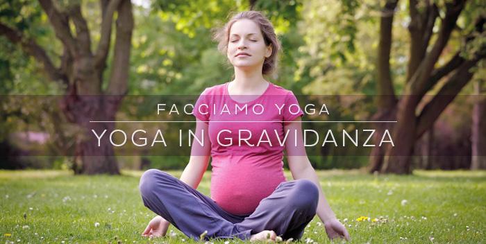 Una sequenza per fare yoga in gravidanza