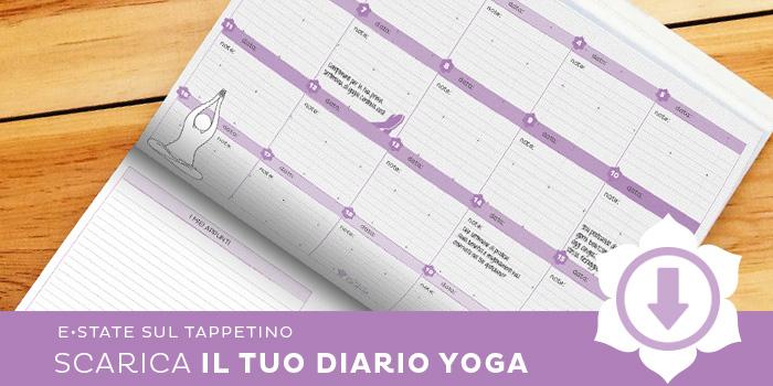 Scarica il Diario Yoga: è gratis!