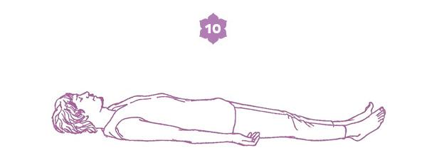 Sequenza yoga per l'energia della spina dorsale - posizione 10