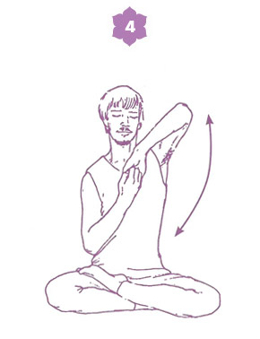 Sequenza yoga per l'energia della spina dorsale - posizione 3