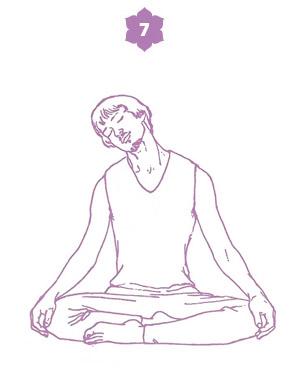Sequenza yoga per l'energia della spina dorsale - posizione 7