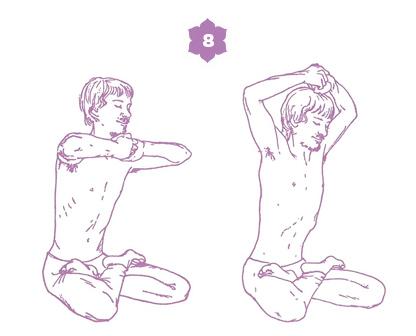 Sequenza yoga per l'energia della spina dorsale - posizione 8