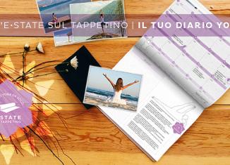 Estate sul tappetino: consigli per praticare yoga in autonomia - Scarica gratuitamente il Diario Yoga da stampare!