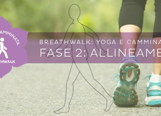 Come fare il Breathwalk: l'allineamento