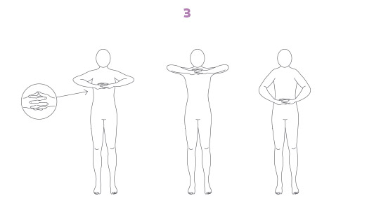 Esercizi di equilibrio per il Breathwalk: Anche e Colonna