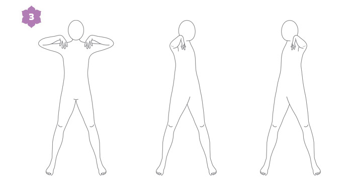 Breathwalk: esercizio di risveglio 3