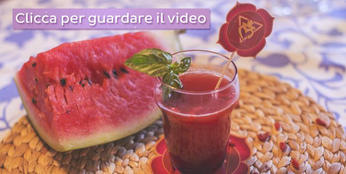 Estratto melone basilico goji