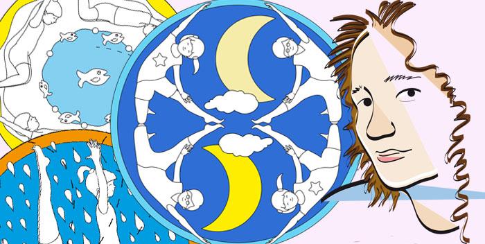 I Mandala dello Yoga – l'autrice Lucia Zacchi si racconta a fumetti