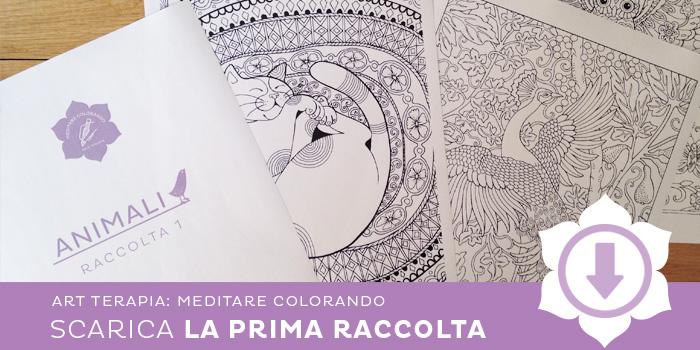 I libri da colorare per adulti meditare colorando le for Disegni da colorare per adulti paesaggi
