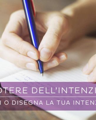 Scarica il pdf e scrivi la tua Intenzione