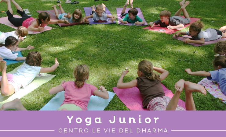 corsi di yoga per bambini a Cesena