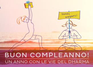 26 settembre 2015: il sito di Le Vie del Dharma compie un anno