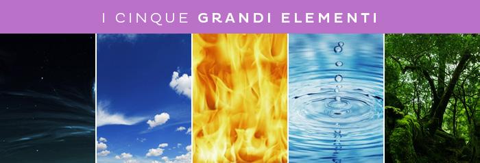 i cinque grandi elementi dell'ayurveda
