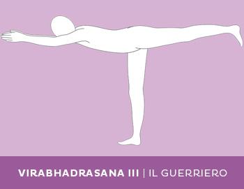Variante: Virabhadrasana III