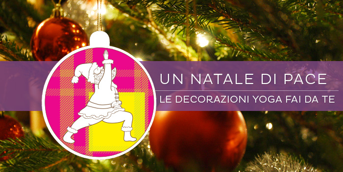 Le decorazioni yoga per il tuo albero di Natale!