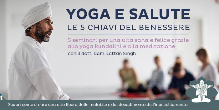 Seminario di yoga kundalini a Cesena: Yoga e Salute le 5 chiavi del benessere