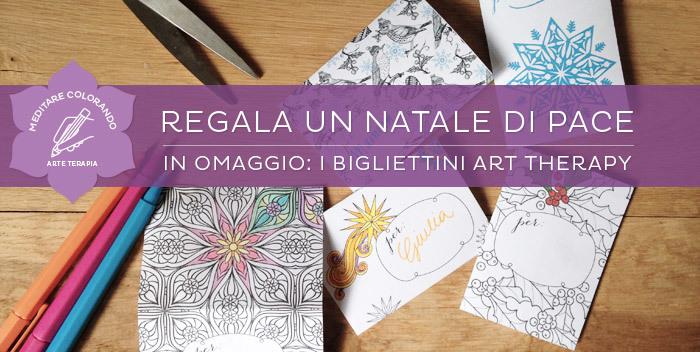 Regala Un Natale Di Pace I Bigliettini Art Therapy Da Scaricare E