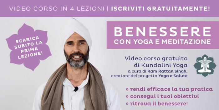 Guarda il video corso di yoga e meditazione di Ram Rattan Singh: è gratis!