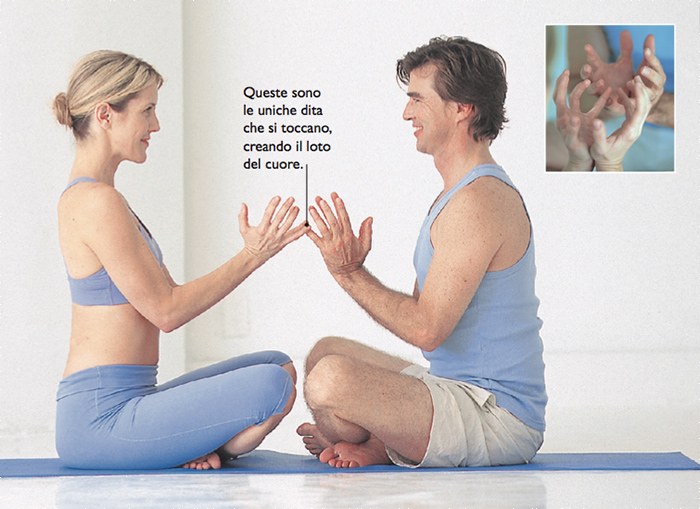 meditazione per la coppia: il loto del cuore