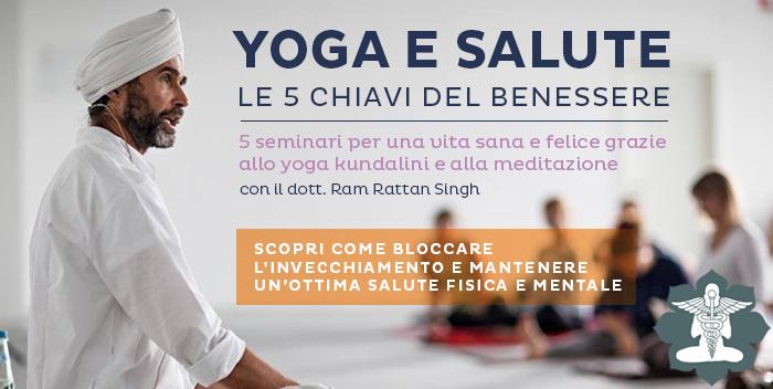Seminario Yoga e Salute: le cinque chiavi del benessere