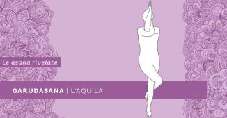 Garudasana, la posizione dell'aquila