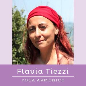 Insegnante di Yoga Armonico Flavia Tiezzi