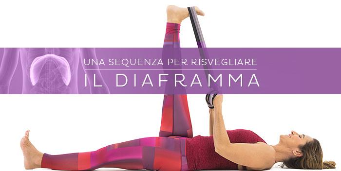 sequenza yoga per risvegliare il diaframma