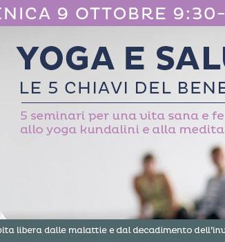 9 ottobre seminario yoga e salute a Cesena