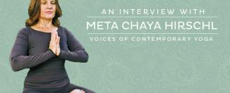 An interview with Meta Chaya Hirschl