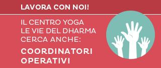Cercasi coordinatori operativi per centro yoga a Cesena