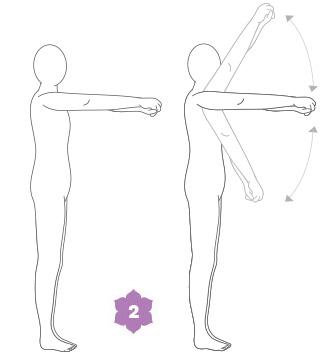 esercizi yoga di risveglio per il breathwalk