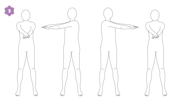 Breathwalk, esercizio di risveglio, parte 3